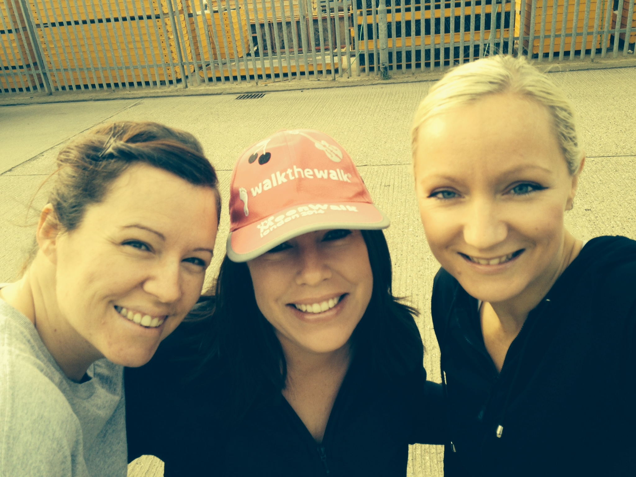 Windsor Waste Management ladies walk for charity